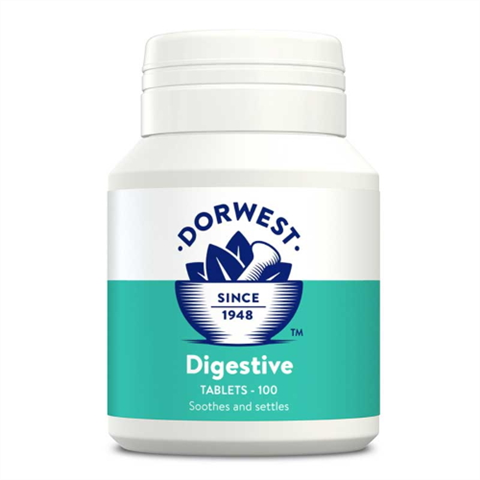 Dorwest Digestive Tablets for Dogs & Cats