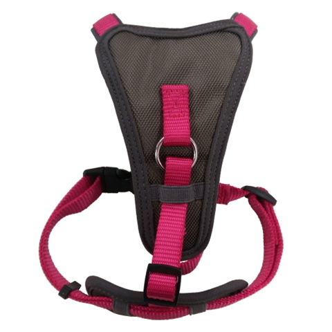 Doodlebone X-Over Dog Harness - Neon Pink