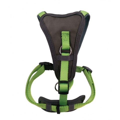 Doodlebone X-Over Dog Harness - Apple Green