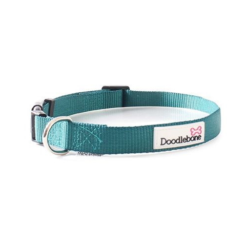 Doodlebone Bold Dog Collar - Teal