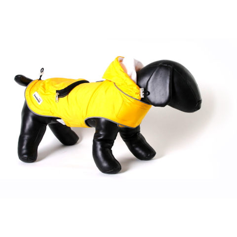 Doodlebone Mac-in-a-Pack Dog Jacket - Yellow