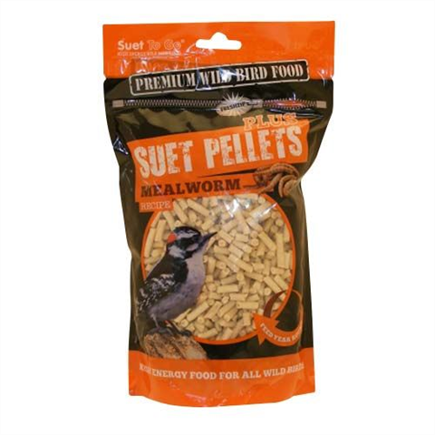 Suet To Go Pellets Mealworm Plus 550g