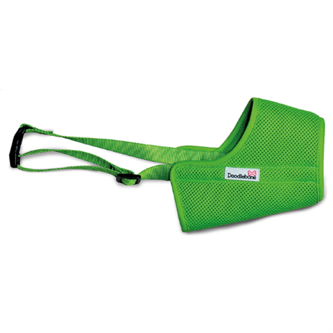 Doodlebone Airmesh Muzzle - Apple Green