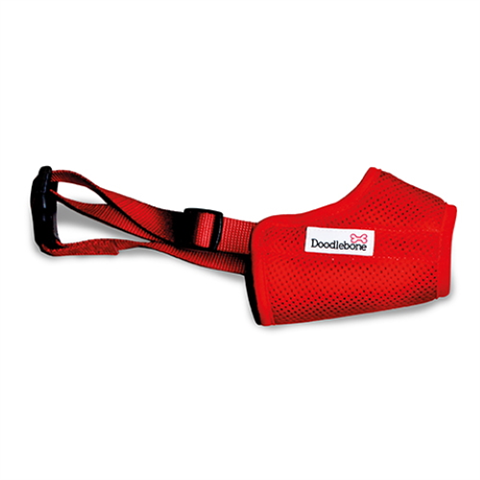 Doodlebone Airmesh Muzzle - Red