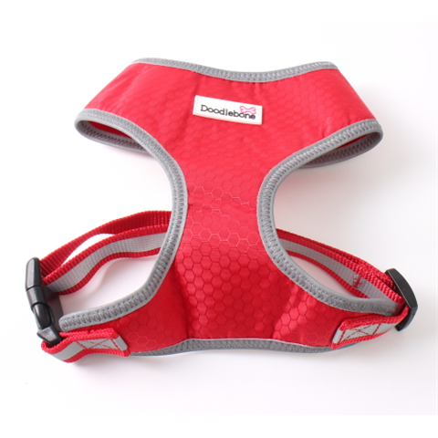 Doodlebone Toughie Dog Harness - Red