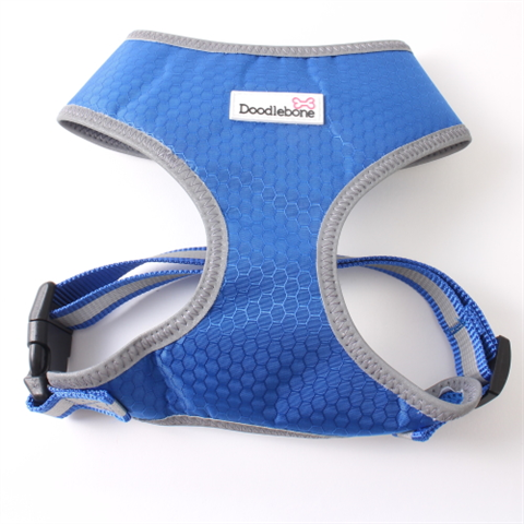 Doodlebone Toughie Dog Harness - Blue
