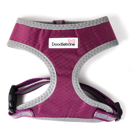 Doodlebone Toughie Harness - Purple