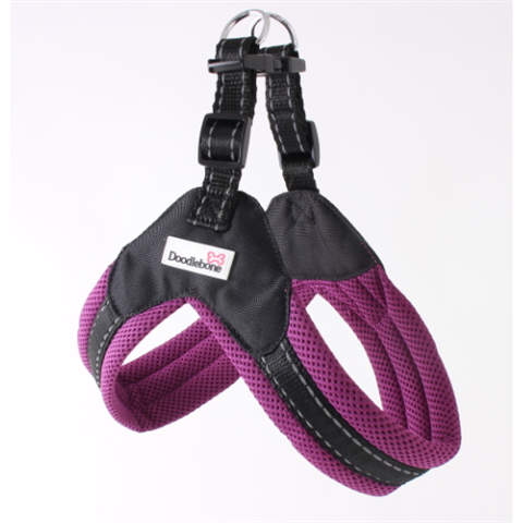 Doodlebone Boomerang Dog Harness - Purple