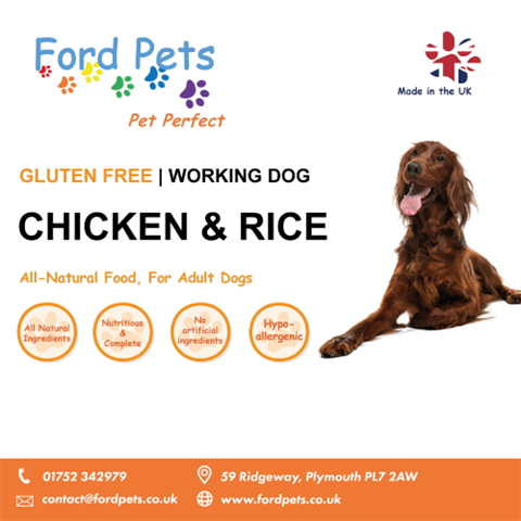 Ford Pets Premium Chicken & Rice Dog Food