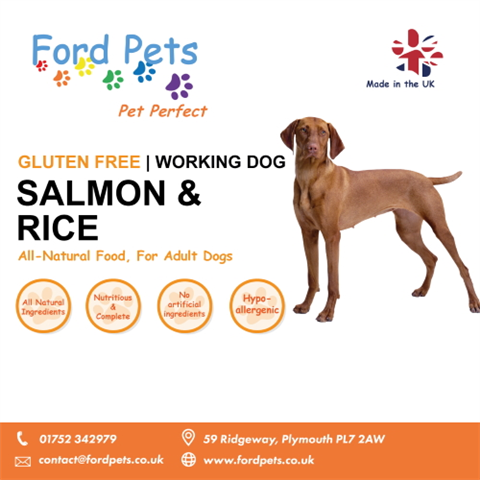 Ford Pets Premium Salmon & Rice Dog Food