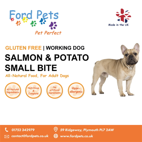 Ford Pets Premium Small Bite Salmon & Potato Dog Food