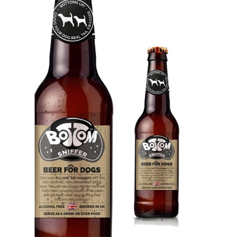Woof & Brew Bottom Sniffer Beer For Dogs 330ml