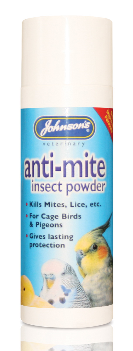 Johnsons Bird Anti-mite Insect Powder 85g