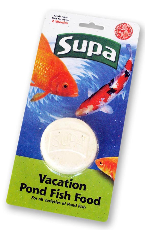 Supa Pond Fish Food Vacation
