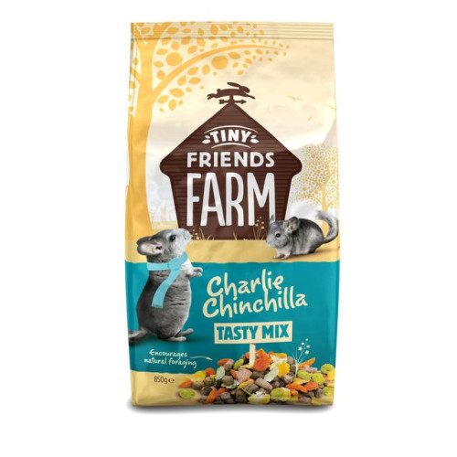 Tiny Friends Farm Charlie Chinchilla Tasty Mix