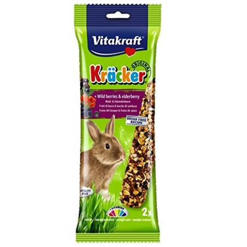 Vitakraft Kracker WildBerry & Elderberry Rabbit 2pk